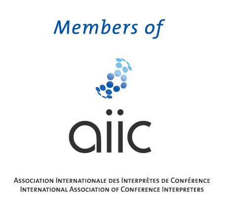 find AIIC interpreters