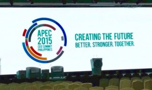 The slogan for the APEC CEO summit where CIAP interpreters worked in Manila Philippines